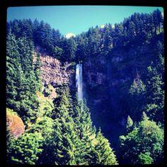 Oregon :) this kinda looks like Watson falls on the north umpqua... But I'm not sure.