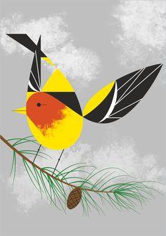 charley harper bird - Google Search