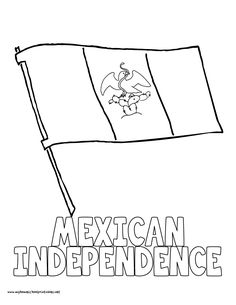 Image result for coloring mexican independence Mexican Independence Day, Coloring, Tote Bag, Image, Happy Day, Totes, Tote Bags