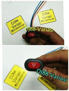 Saklar lampu variasi unik kecil saklar on off mini 1 mode lampu tembak lampu cree led