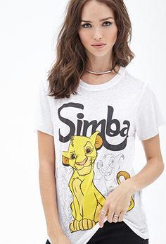8.Graphic Tee Simba √