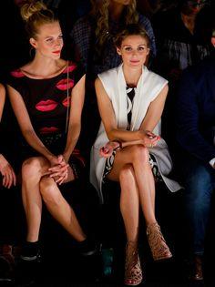 Poppy Delevingne y Olivia Palermo