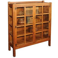 China Cabinet/Bookcase, by Quaint/Stickley Bros. circa 1910