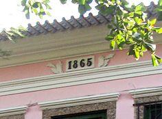 Azulejos antigos no Rio de Janeiro: Santa Teresa IV - rua Paula Matos