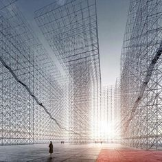 """""""Reveal the absence - The unbuilt"""" Guillaume Mazars Architecture 2013 (Competition entry - second prize) by spacelab"""