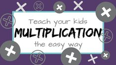 Are you ready to teach multiplication to your kids? Multiplication can be a little overwhelming for both teachers and students! So often the main focus … Read More › Learning Multiplication, Teaching Math, Multiplication Problems, Maths, Math Formulas, 3rd Grade Math, Third Grade, Math Help, Basic Math