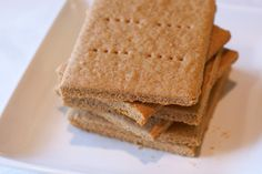 Sarah Bakes Gluten Free Treats: gluten free graham crackers. I would substitute date sugar for brown sugar.