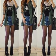 Concert outfit, well what I would wear to a concert since I don't really own any band t-shirts. Grunge, indie and cute!