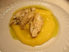#Trout fillets with #Polenta and #thyme...fantastic combination!