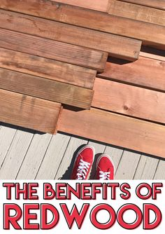 Did you know that redwood lumber has amazing and unique qualities that make it perfect for outdoor building projects? This post explains why redwood is the best choice for pergolas, gazebos, furniture and other outdoor projects. #justredwood #redwooddiy #diy #woodworking #pergola #gazebo #wood
