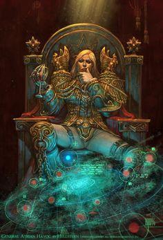 General Atrian Havoc by Hellstern.deviantart.com on @deviantART