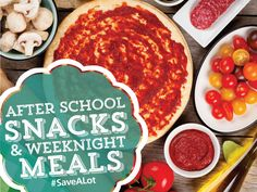 BACK TO SCHOOL - AFTER SCHOOL SNACKS & WEEKNIGHT MEAL RECIPES