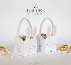 DIY de Pâques - La Bunny Box