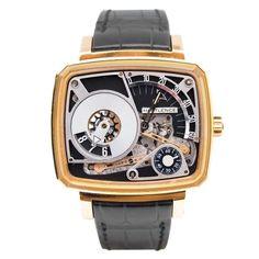 Hautlence HL HL03 43.8 Automatic 18K Gold Case Black Leather Anti-Reflective Sapphire Men's Watch - http://tourbillonwatches.biz/product/hautlence-hl-hl03-43-8-automatic-18k-gold-case-black-leather-anti-reflective-sapphire-mens-watch