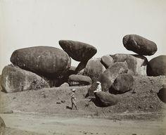Jubbalpore – Rock formation; Sache & Murray (Albumen Print, circa…