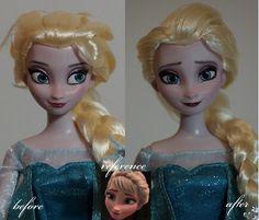 Lulemee OOAK Fashion Doll Pop Art: Photo