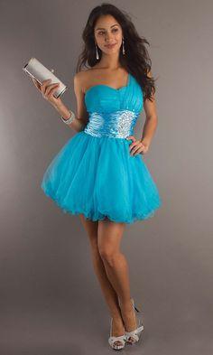 popular 2014 new blue short prom dress | Cheap prom dresses Sale