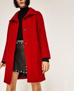 ZARA - WOMAN - RED COAT