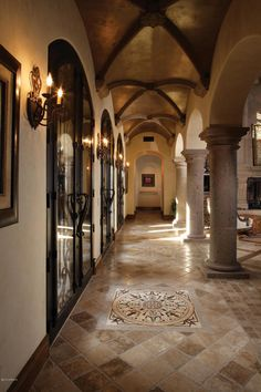 Home Interior Living Room .Home Interior Living Room Tuscan Style Homes, Spanish Style Homes, Tuscan House, Corridor Design, Tuscan Design, Mediterranean Home Decor, Tuscan Decorating, Cheap Home Decor, Home Interior Design
