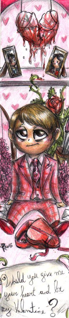 Hannibal - Happy Valentine's day 1 by FuriarossaAndMimma.deviantart.com on @DeviantArt