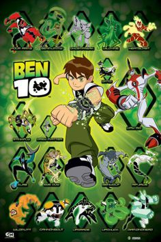 Ben 10 Poster for Halloween ideas