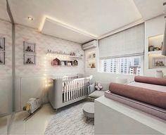 No projeto ❤ ➡ A proposta para o quarto do bebê por ➡ @fernandaliparizi_arquitetura