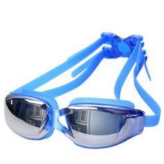 Electroplating UV Waterproof Antifog Swimwear Eyewear Swim Diving Water Glasses Gafas Adjustable Swimming Goggles Women Men A020