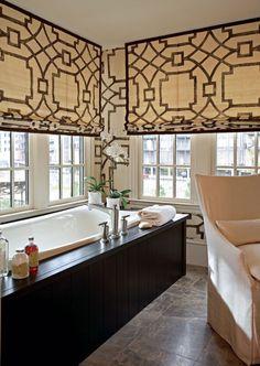 Window Treatments - Design Chic: In Good Taste: Robert Brown Design