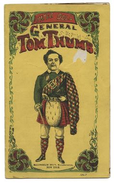 McLoughlin Bros. Paper Dolls of Tom Thumb and Mrs. Tom - 2