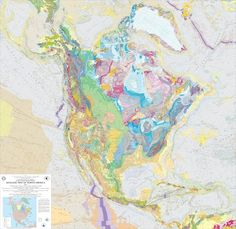The prettiest information resources: Geologic maps Click and click to enlarge Fun interactive map!