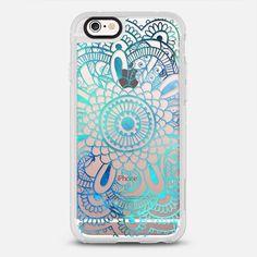 Mandala Aqua + Teal Transparent - New Standard Case