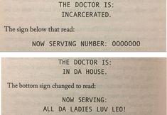 The doctor will see us now. #leovaldez