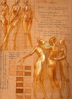 Sketchbook Journal Page