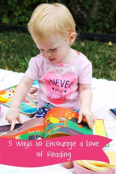 I love these tips for 5 ways to encourage reading with children of all ages!  These simple tips can be implemented in any household! #Back2SchoolReady #ad