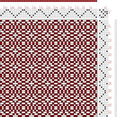 Hand Weaving Draft: Page 184, Figure 23, Donat, Franz Large Book of Textile Patterns, 5S, 5T - Handweaving.net Hand Weaving and Draft Archiv...