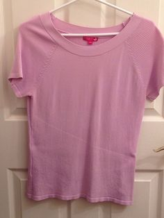 Butterfly by DARIA Women s Mauve Short Sleeve Sweater
