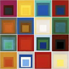 Image result for Josef Albers Homage to the Square: Dissolving/Vanishing (1951)