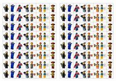A Lego Movie matricák