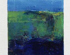 4 mai 2017 peinture - abstrait peinture à l'huile - 9 x 9 (9 x 9 cm - environ 4 x 4 pouces) avec 8 x 10 pouces mat