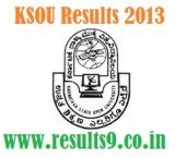 KSOU MA II Year English, Economics, Political Science, Public Administration Results 2013