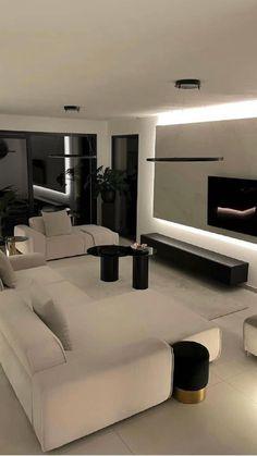 Home Room Design, Dream Home Design, Modern House Design, Home Interior Design, Decor Home Living Room, Dream House Interior, Luxury Home Decor, Dream Rooms, My New Room