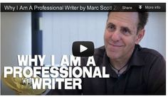 'Why I Am A Professional Writer' by Marc Scott Zicree