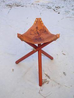 DIY Folding Campstool