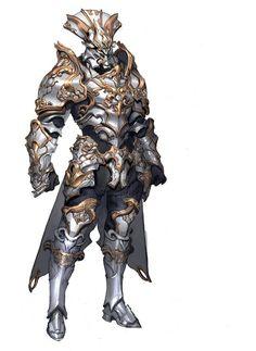Fantasy Concept Armor Art