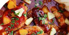 When it comes to anything sweet and savory, this Crockpot Pineapple BBQ Pork Chops recipe is a bonafide legend. The tangy, flavorful barbecue sauce and sweet, juicy pineapples turn ordinary pork chops into the EXTRAORDINARY. You will LOVE how easy this is to make, but you'll love the way it tastes even more. Crockpot Pineapple …