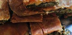 Χορτοπιτα με χειροποιητο φυλλο και στρωσεις λαχανικων Desserts, Food, Tailgate Desserts, Deserts, Essen, Postres, Meals, Dessert, Yemek