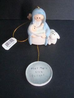 Lifesighs  Mary and Baby Jesus Ornament