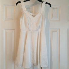 White BCBGeneration dress Short white BCBGENERATION dress BCBGeneration Dresses