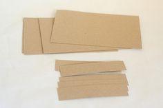 Cutting Paper to Make a Mini Paper Album