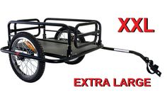 Extra Large Foldable Cargo Trailer Bike Luggage Shopping Carrier Cycle Bicycle | eBay